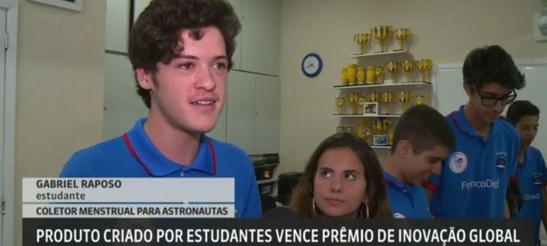 Equipe de robótica FrancoDroid na GloboNews
