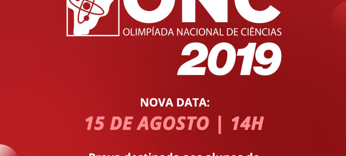 Inscrições abertas para a Olimpíada Nacional de Ciências