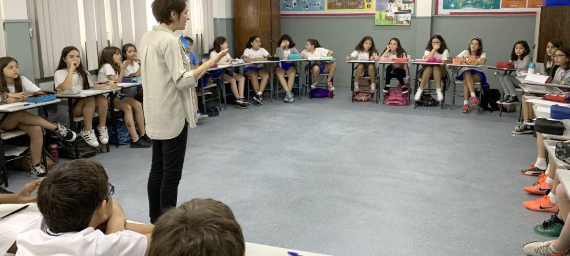 Encontro com a escritora Pauline Alphen – 5º ano EFI