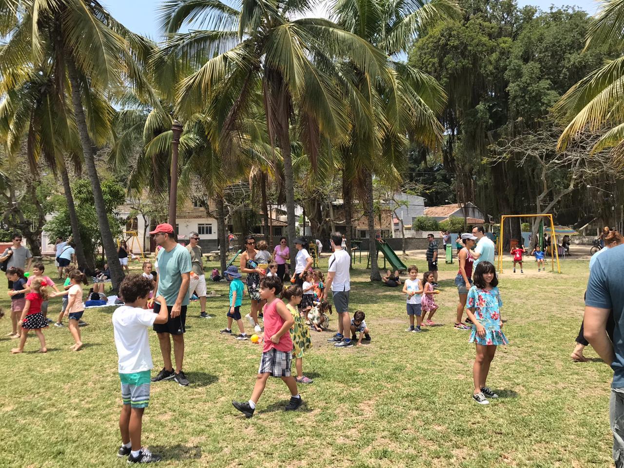 Escola e Família em Paquetá