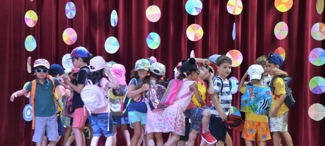 Festas de encerramento da Educação Infantil