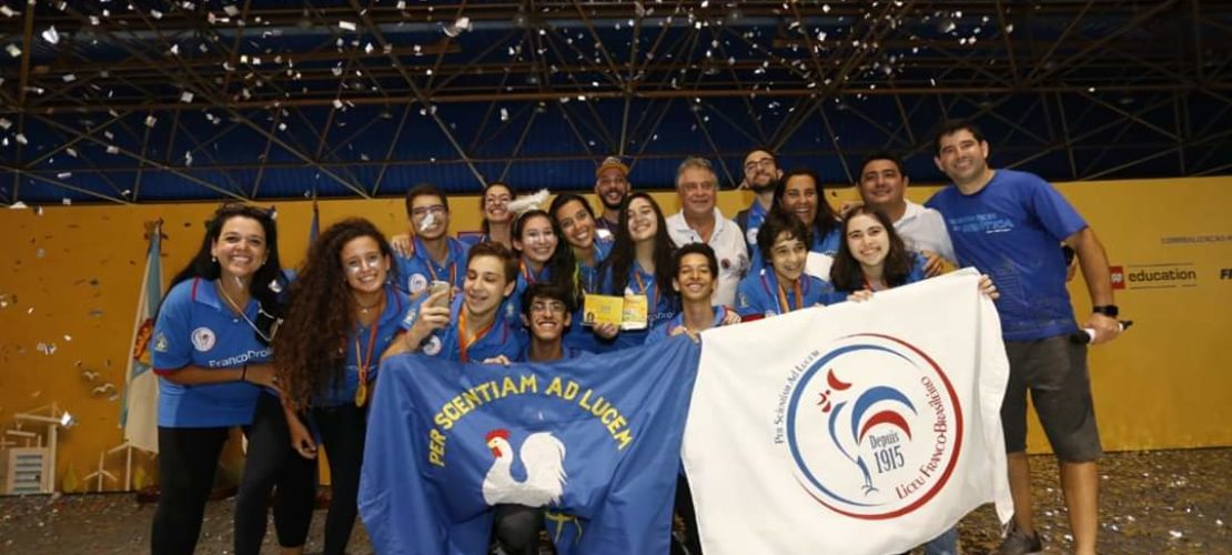 Campeonato Regional de Robótica – SESI FLL