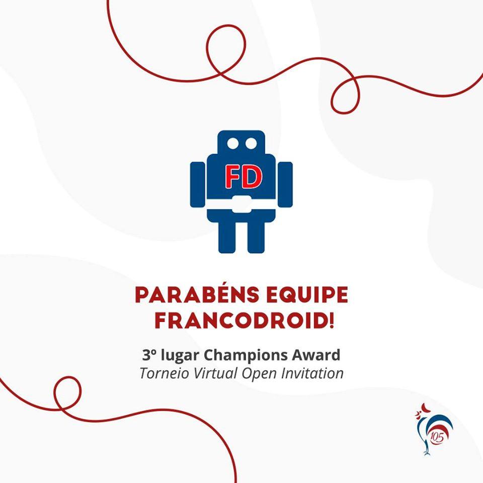 Torneio Virtual Open Invitation – Francodroid conquista 3º lugar geral