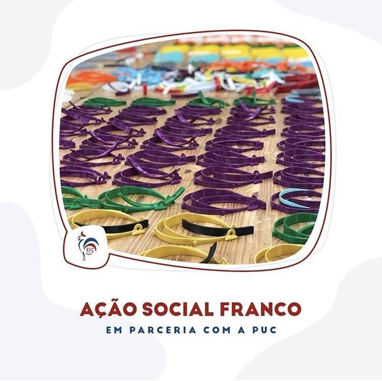 Ação Social – Franco em parceria com a PUC-Rio