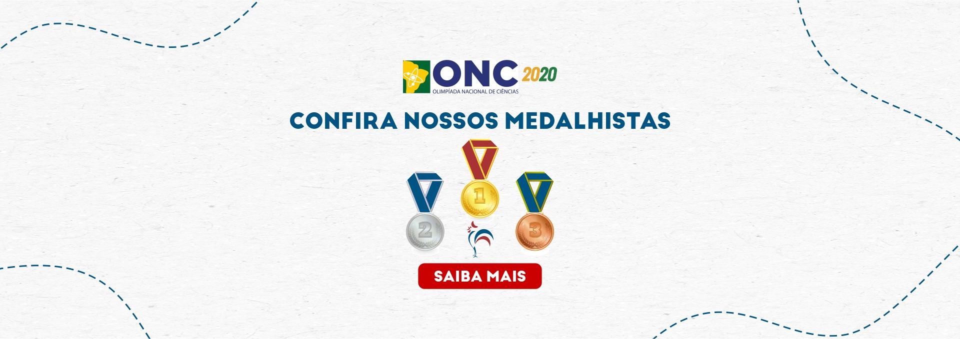 Alunos premiados na ONC