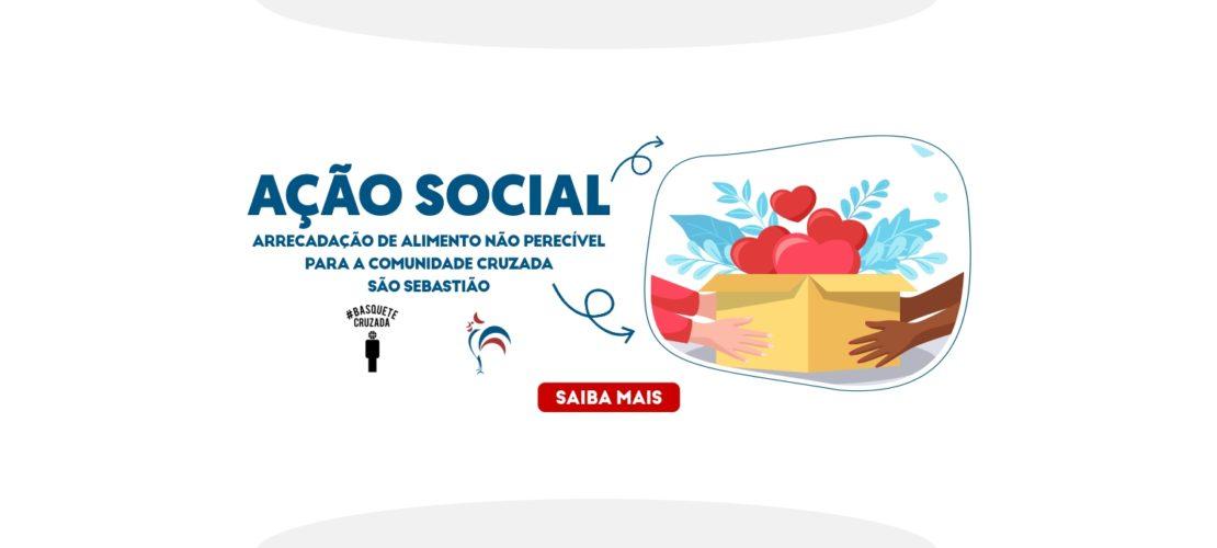 Ação Social – Basquete Cruzada