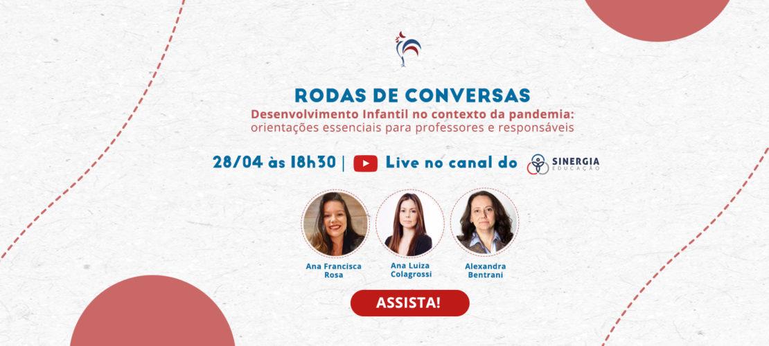 Live: Desenvolvimento Infantil no contexto da Pandemia