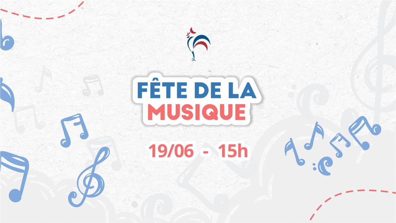 Tradicional Fête de La Musique acontece no dia 19/06