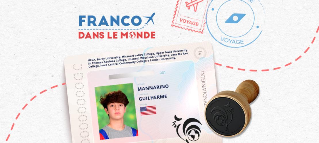 Aluno do Franco celebra aprovação em 12 universidades americanas